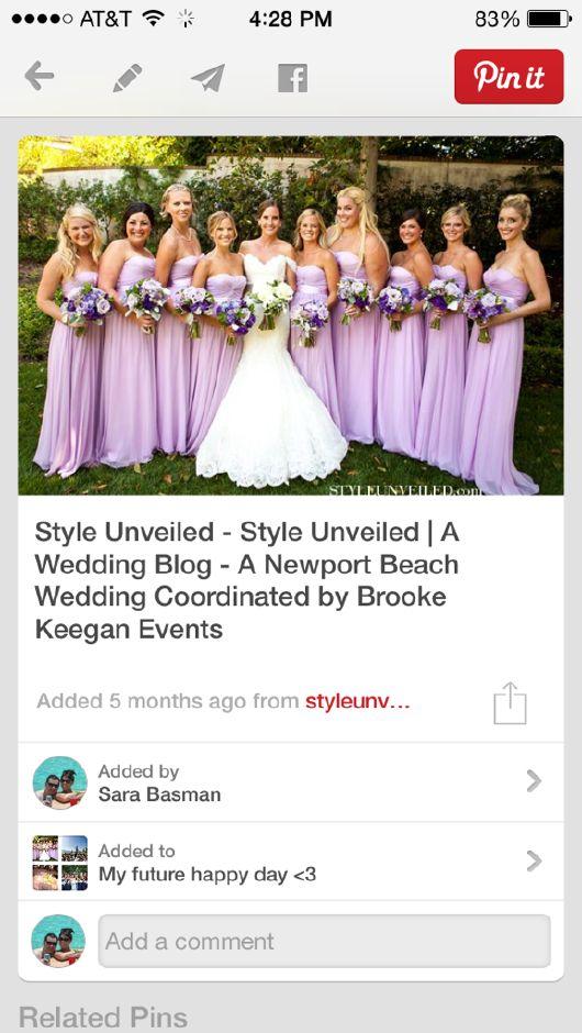 Bride maids dresses