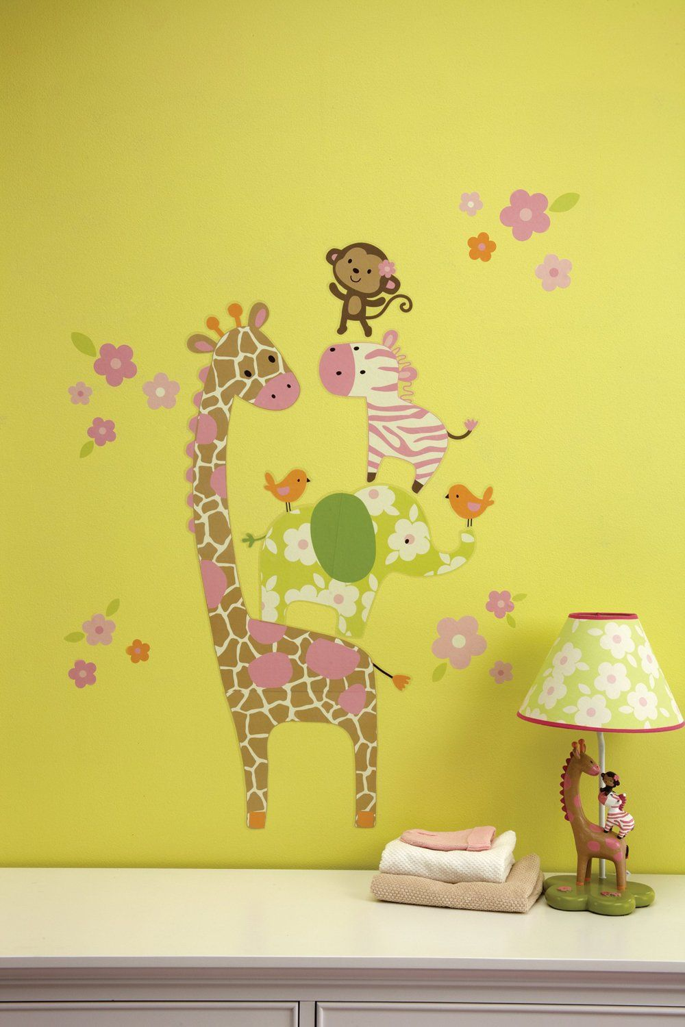 Carter's Jungle Collection Wall Decals Baby
