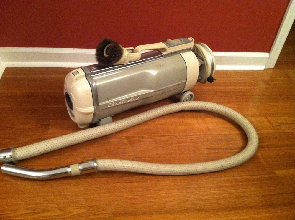 Details About Vintage Electrolux Canister Vacuum Cleaner