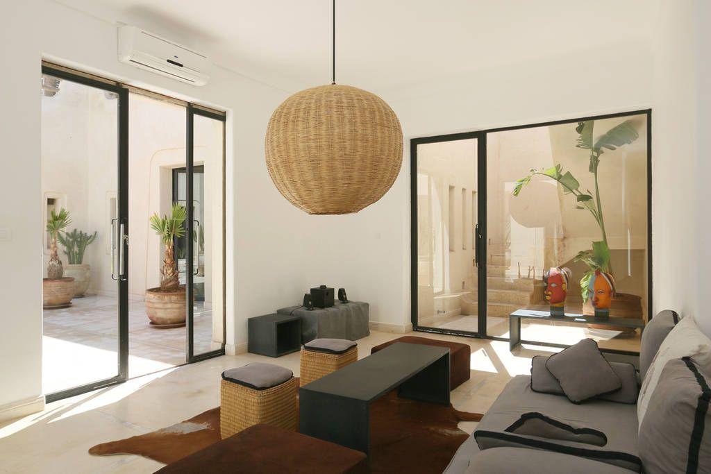 Logement entier marrakech maroc de style r solument - Location maison avec piscine marrakech ...
