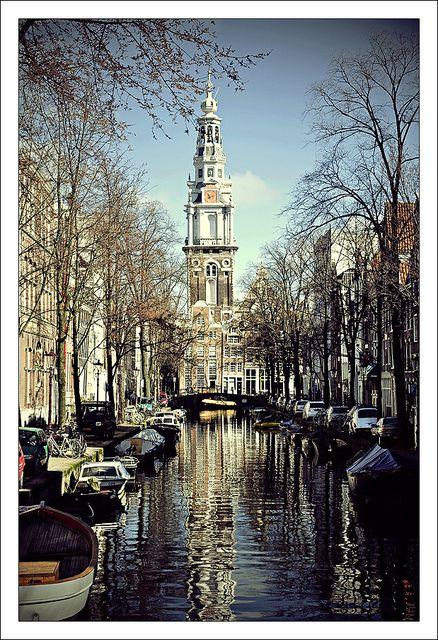 water of Amstredam...