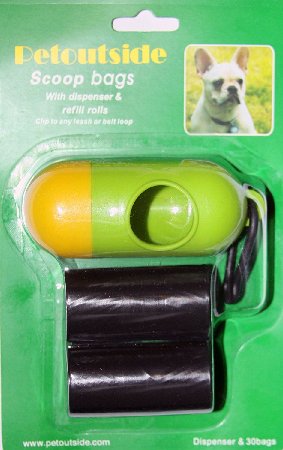 Pet Dog Waste Bags Refill Dispenser 30 Bags 2 Rolls with plastic core * You can find out more details at the link of the image. (This is an affiliate link and I receive a commission for the sales)