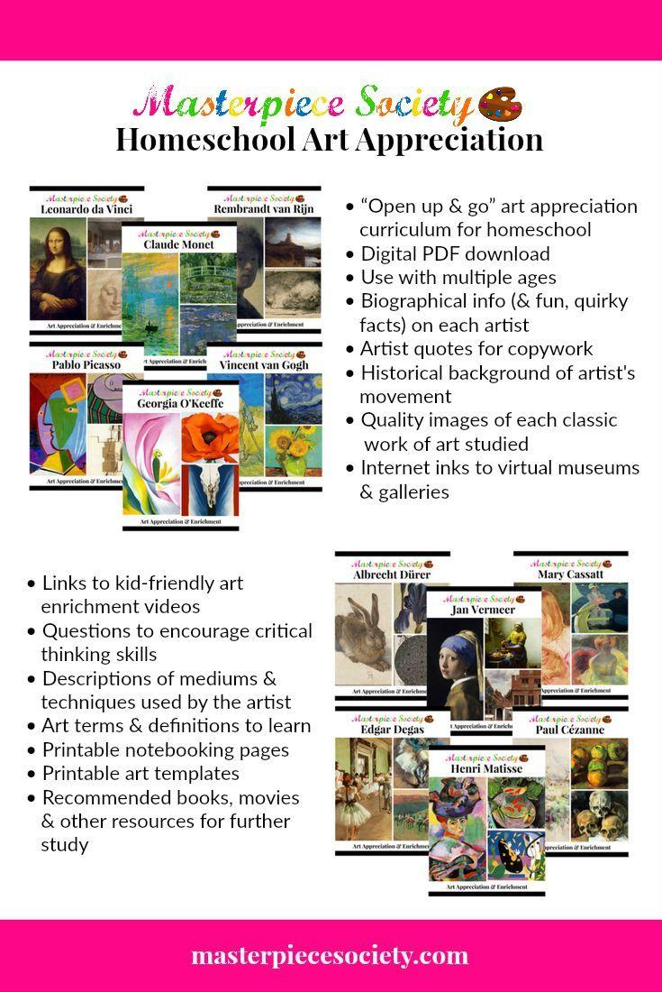 Art appreciation art curriculum teaching art