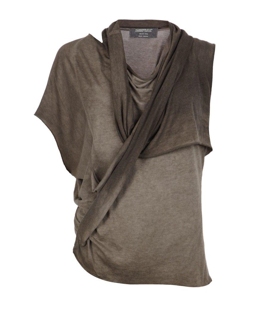 Allsaints spitalfields sedna top wish list pinterest moda and