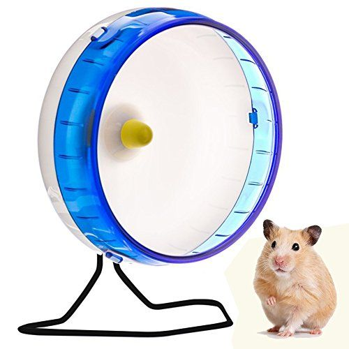 Love Hamster Wheel 8 3inches Various Color Pet Silent Spinner