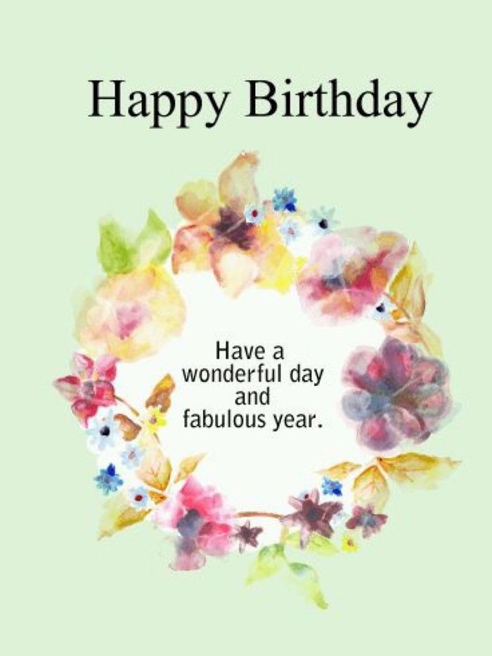 Happy Birthday Have A Wonderful Day And Fabulous Year Happy Birthday Flower Happy Birthday Nephew Birthday Wishes For Nephew