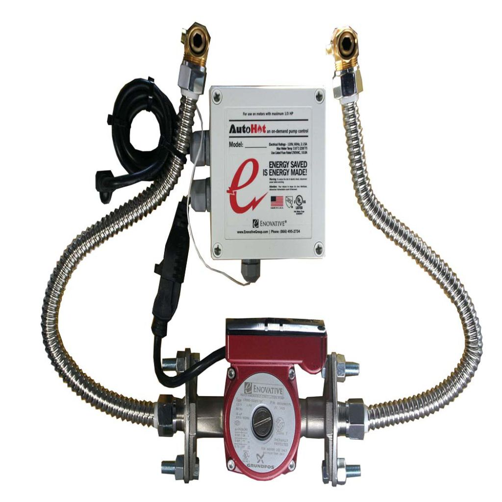 Easily Installed, Get On-demand Hot Water! Eliminate The