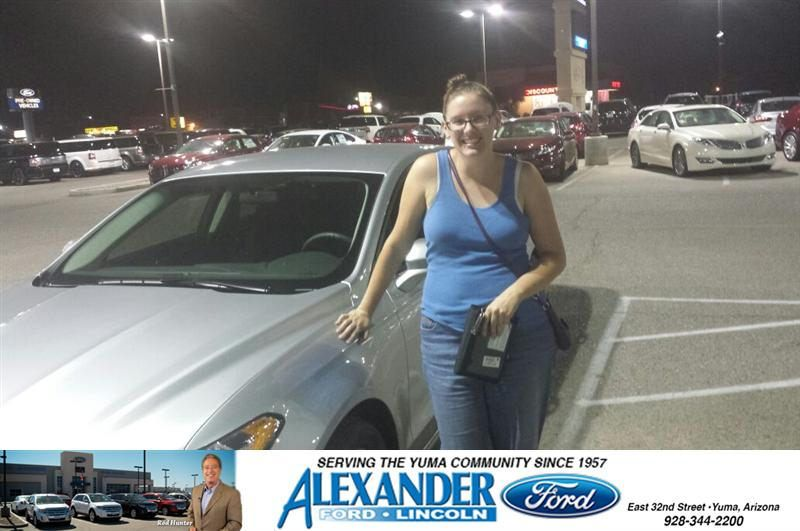 Congratulations To Kourtnee Klupacs On Your Ford Fusion Purchase