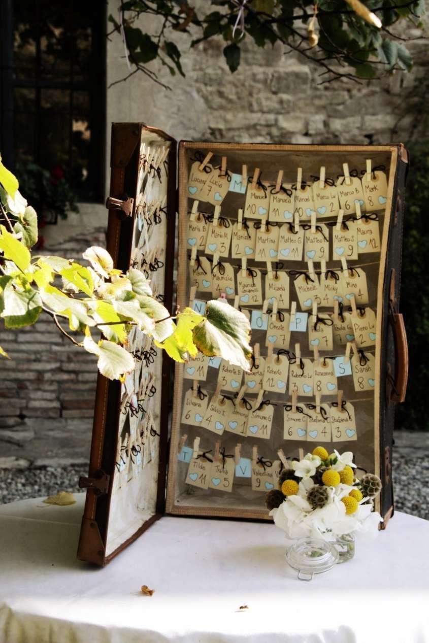 Tableau Di Matrimonio Idee Originali Tableau A Forma Di Valigia Tableau Matrimonio Matrimonio Idee