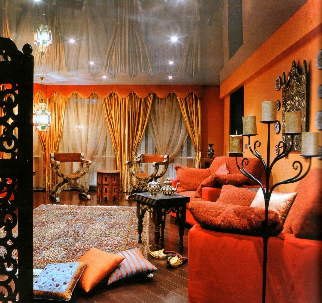 Decor Living Room Ideas: Persian Style Home Decorating Ideas