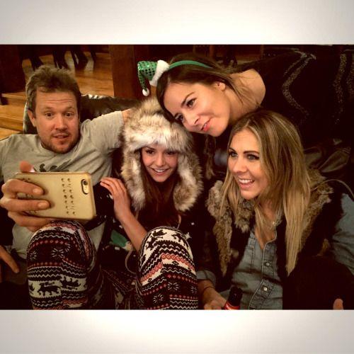 ninadobrev:  Merry Merry Selfie! View more Nina Dobrev on WhoSay