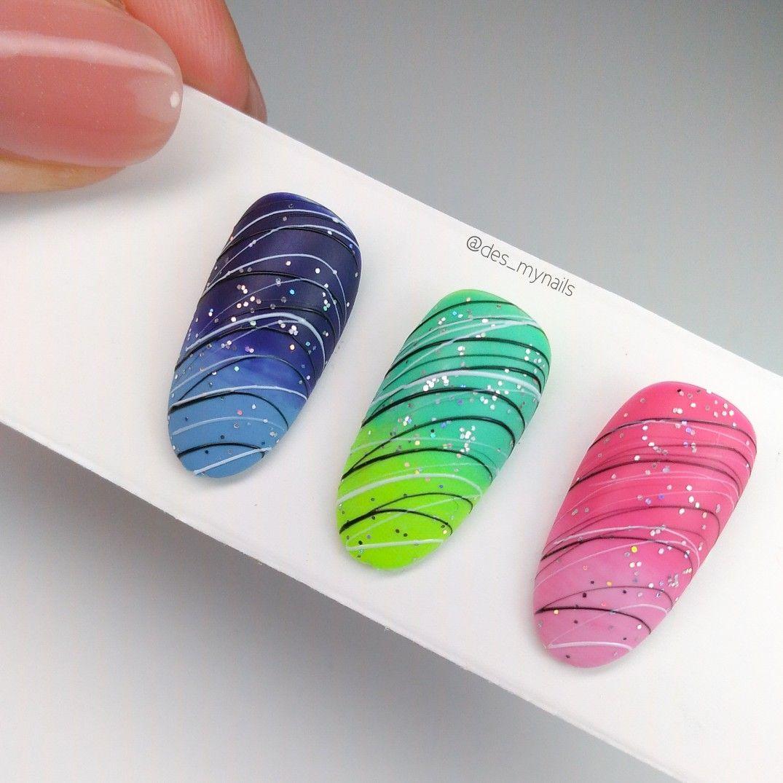 Spider Gel Nails Design In 2020 Gel Nail Art Gel Nail Art Designs 3d Nail Art Designs