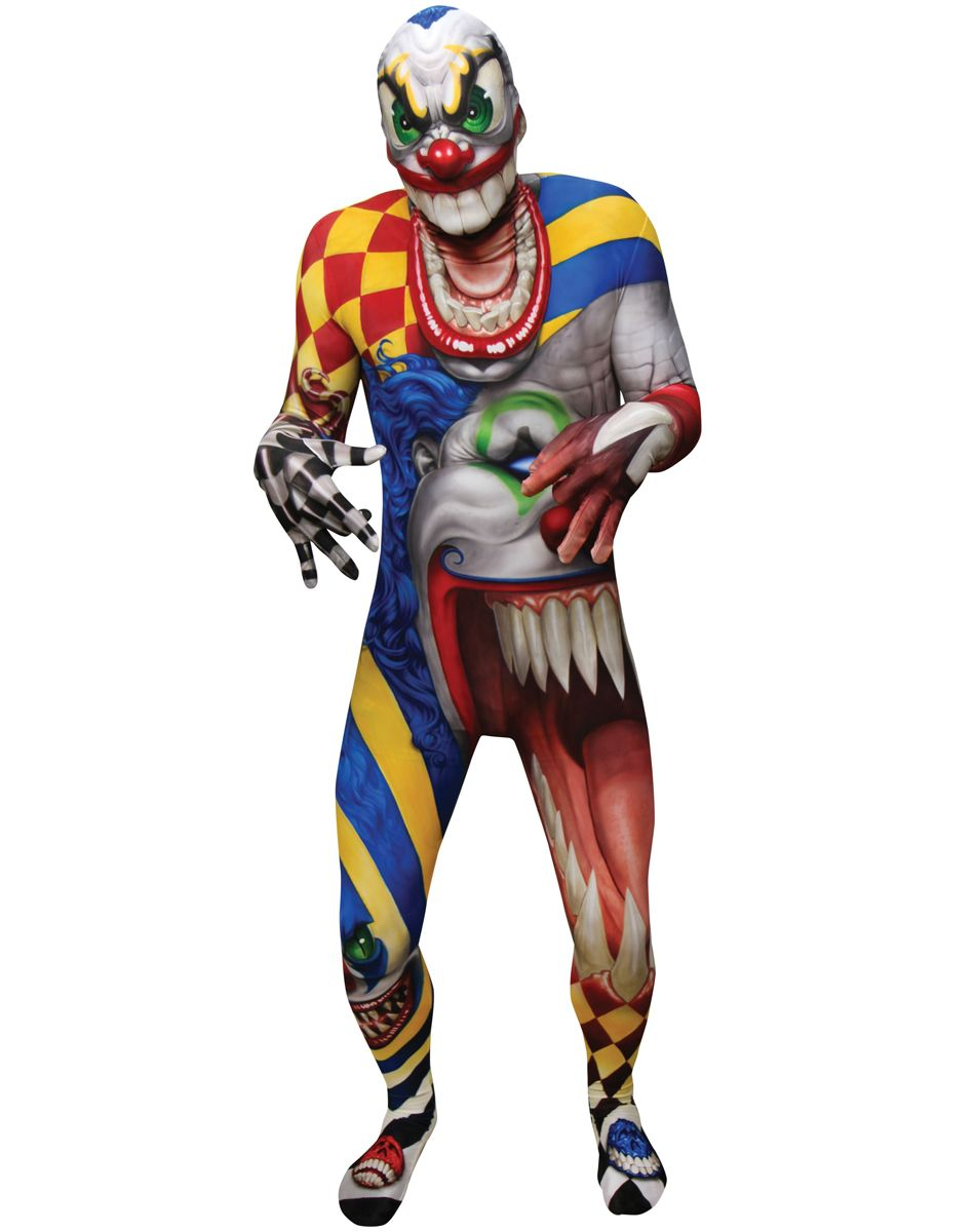 Clown Morphsuit at Spirit Halloween - Creep out the neighborhood ...