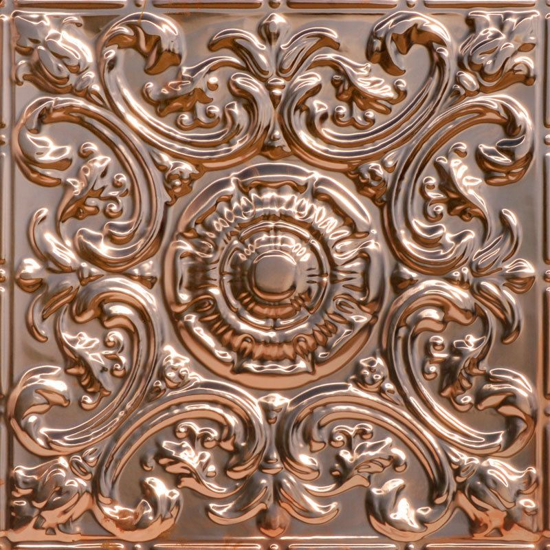 Al Fresco - Copper Ceiling Tile - 24 inch x 24 inch  - 2414