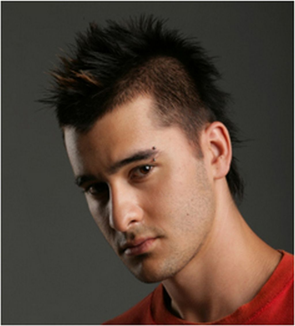 Hairstyle Men Mohawk Haircut Men Hairstyle Pinterest Hairstyle