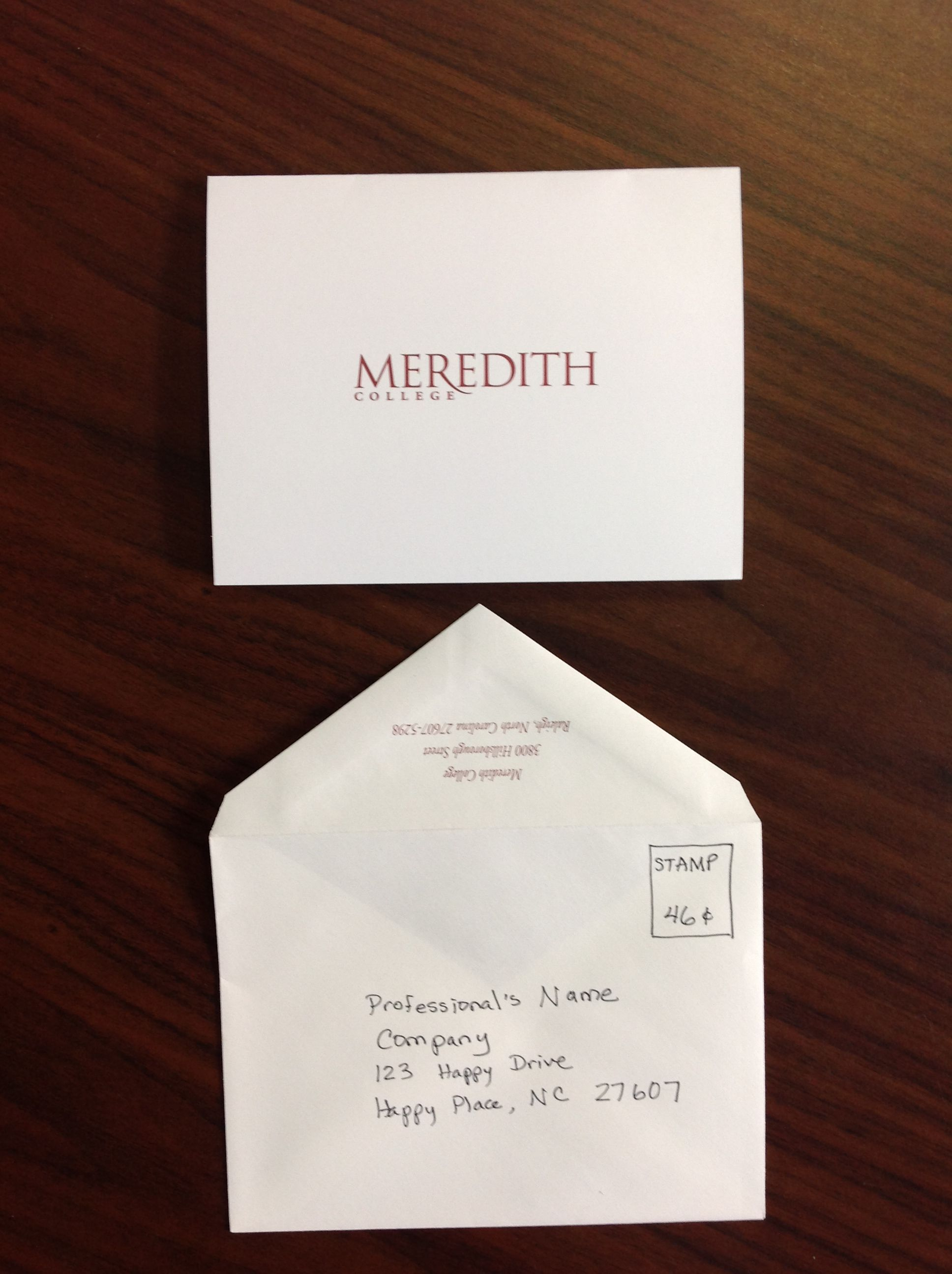 send handwritten thank you cards within 24 hours of your interview