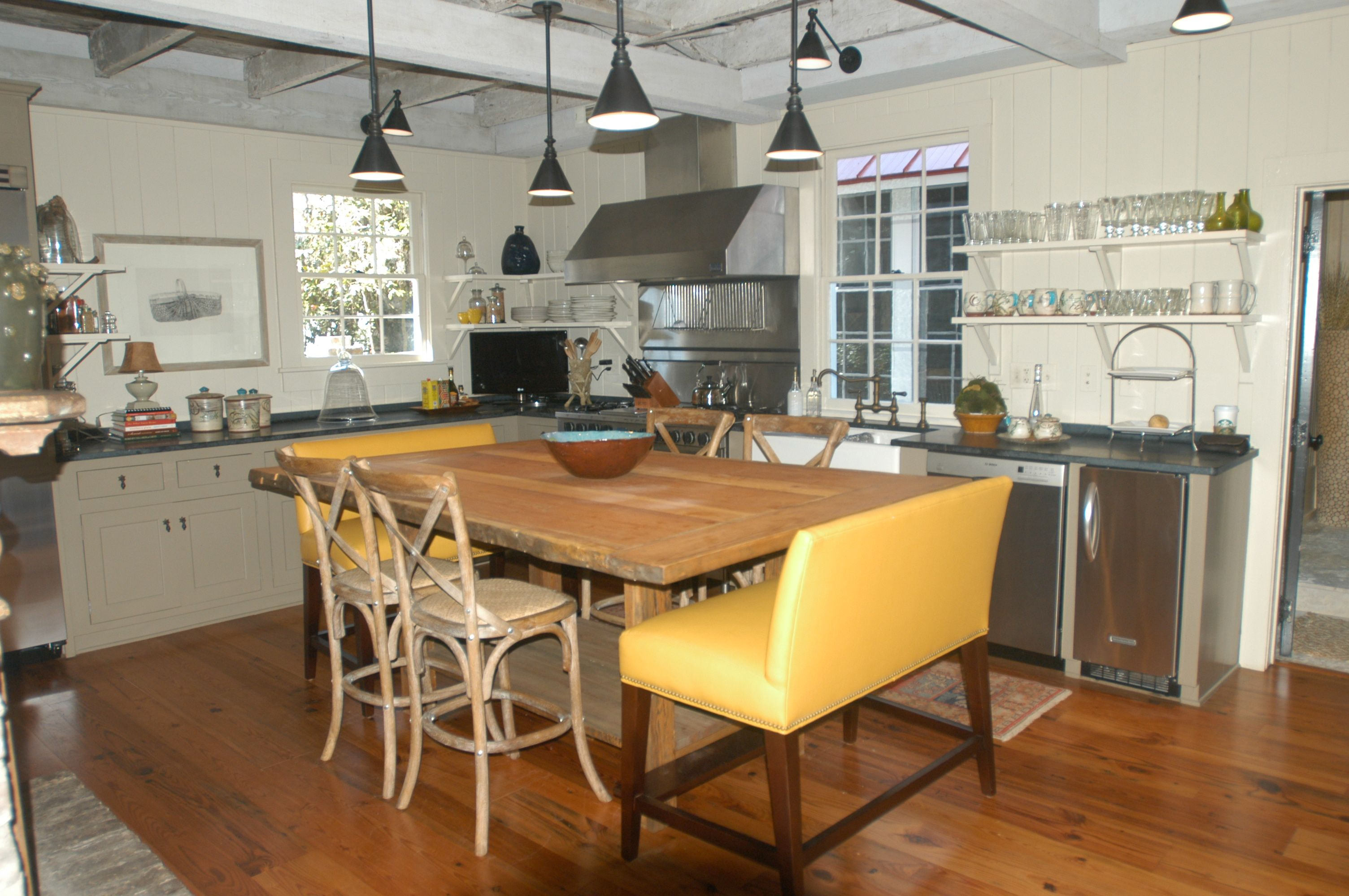 """""""Before"""" styling Kitchen"""