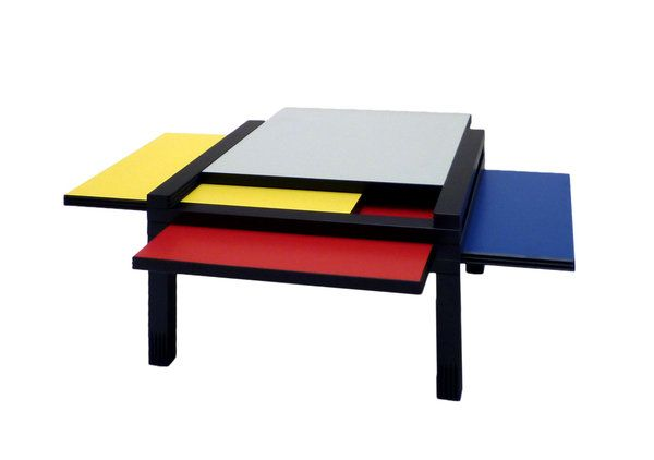 tendance d co mondrian primary colors mondrian deco. Black Bedroom Furniture Sets. Home Design Ideas