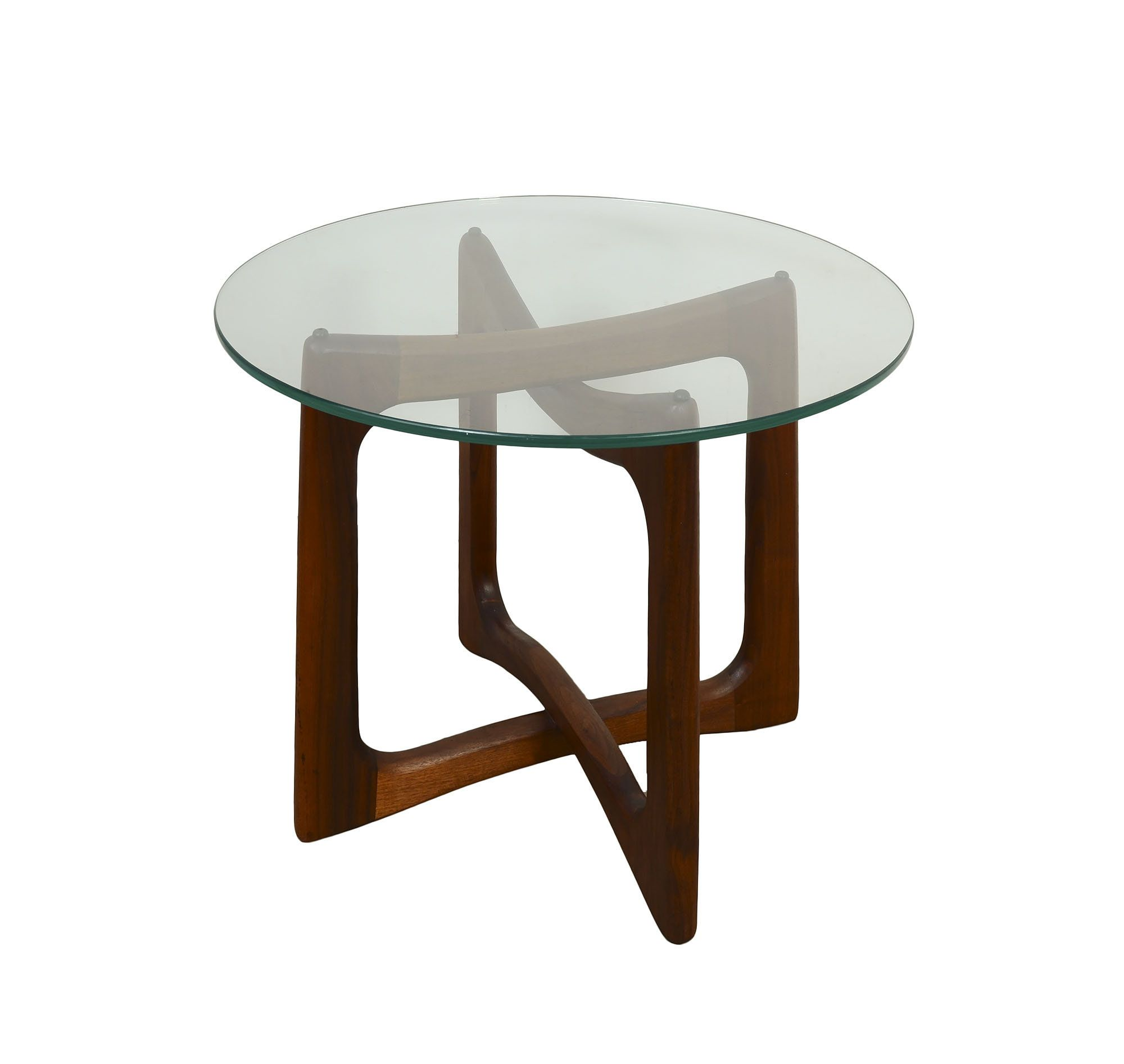 Adrian Pearsall Table Glass Top Side Table Craft Associates Model