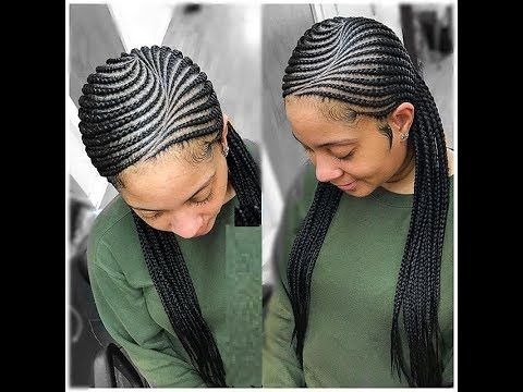 Hair Braids Styles 2018 Stunning Hairstyles You Must See Natural Hair Styles Braided Hairstyles African Braids Styles