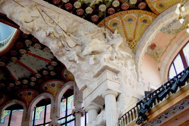 BARCELLONA - Palau Musica Catalana Valchirie