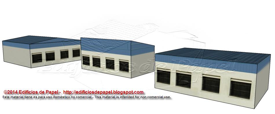 """""""Almacén Portuario"""" es la nueva serie de maquetas de papel de la categoría """"Fábricas"""" dedicada a edificios industriales. Cada modelo de la s..."""