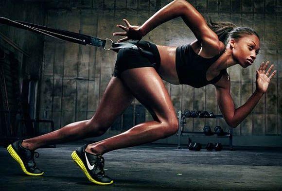 Portraits Of Power: Nike Women With Annie Leibovitz Photography fitness-fashion