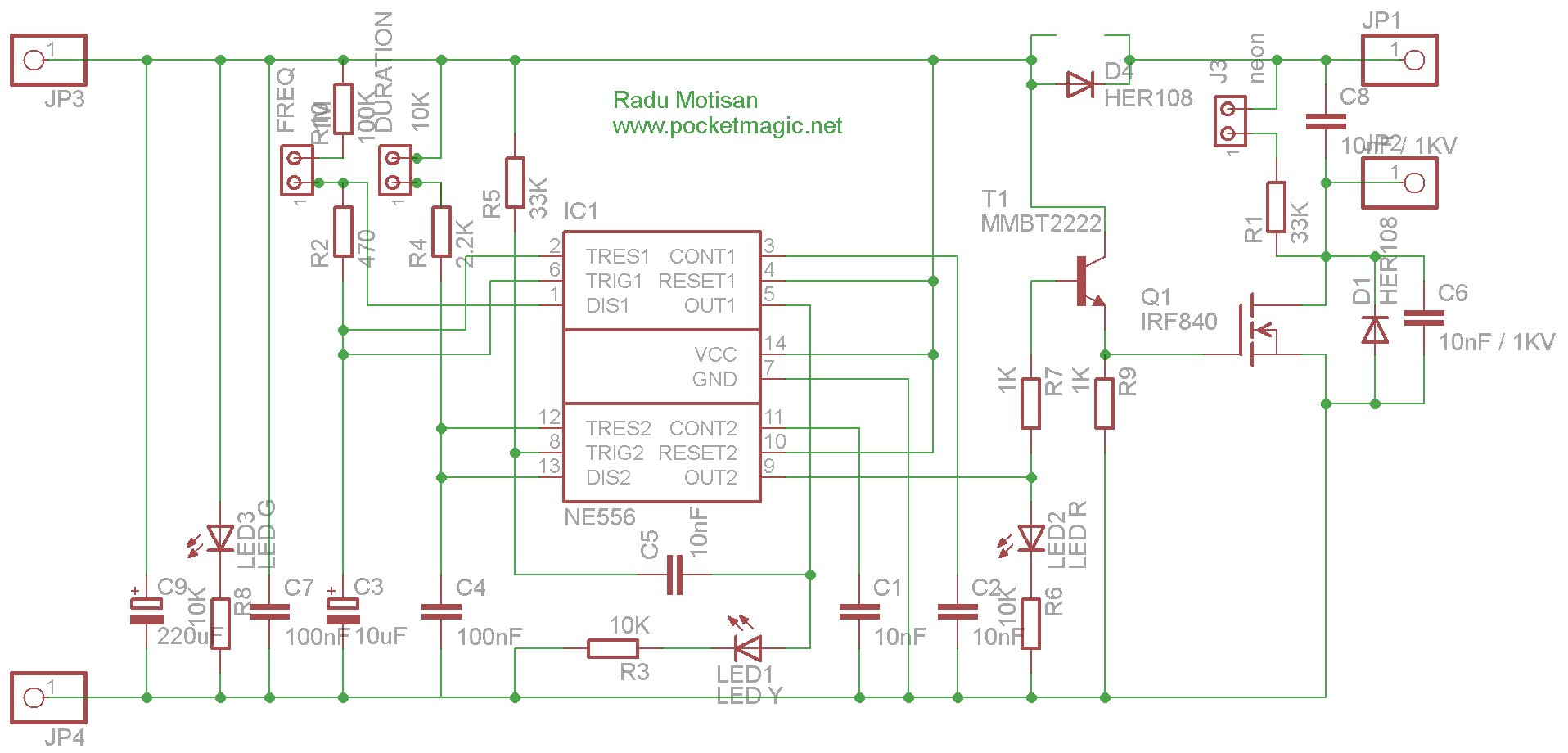 medium resolution of two battery operated portable electric fence designs using 555 and fence further electric fence circuit diagram on electric fence