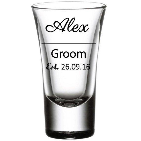 DIY Set Of Shot Glass Decals Custom Personalized Vinyl Decals - Vinyl decals for shot glasses