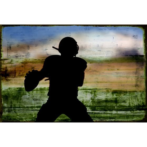 Varsity Football Wall Mural | PBteen