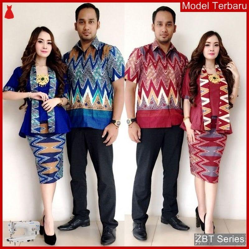 Zbt13509 Kebaya Batik Couple Salma Pendek Yogyakarta Bmgshop Merit