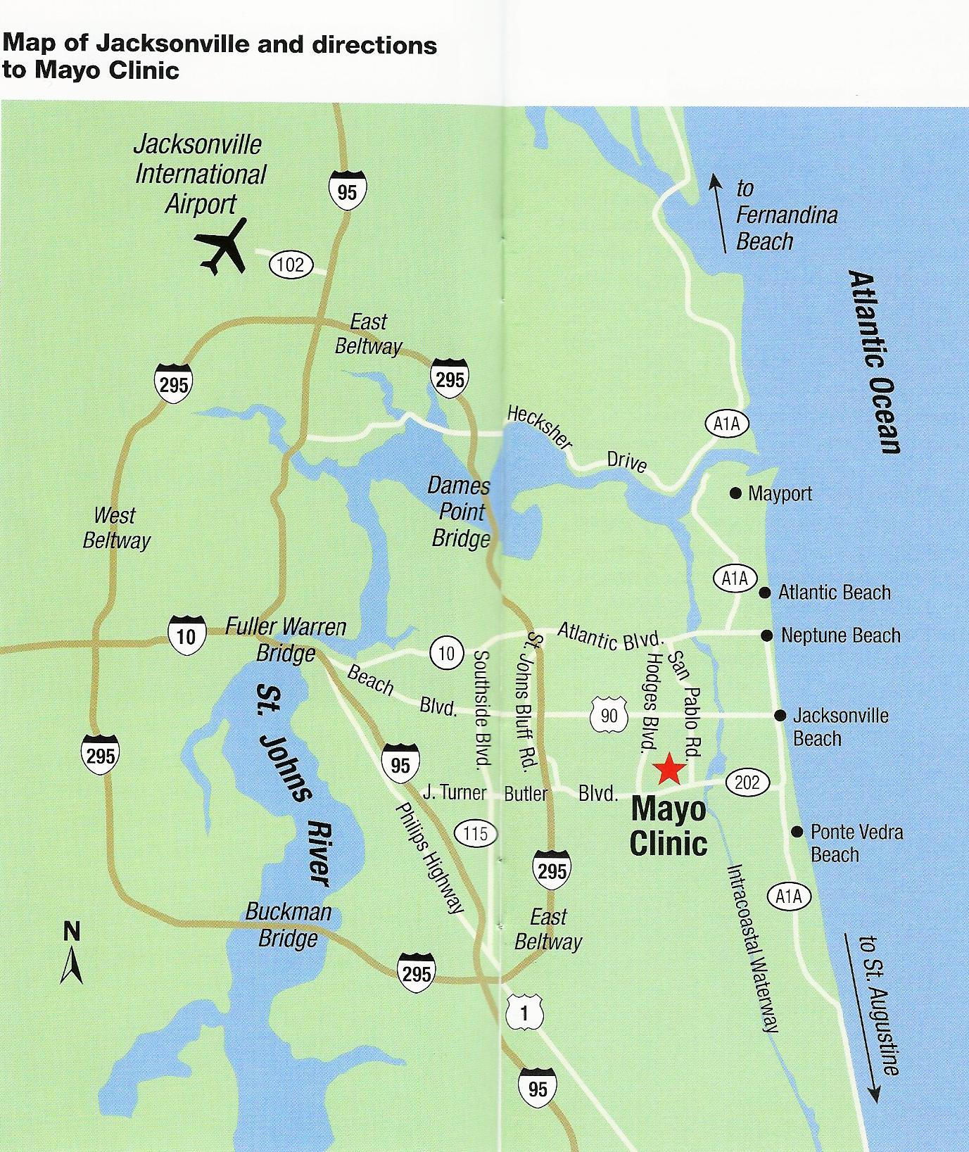 Mayo Clinic Florida 4500 San Pablo Road Jacksonville Fl 32224 Clinic Jacksonville Mayo Clinic