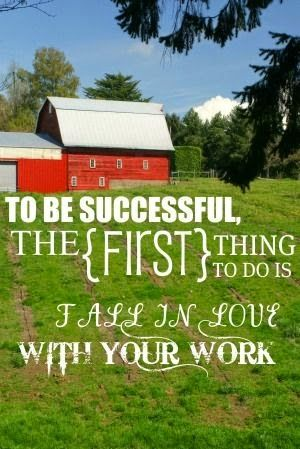The Life of a Future Farmer: 30 Days: Thoughts of a Future Farmer Day 21 - Becoming a Farmer - an Uphill Climb