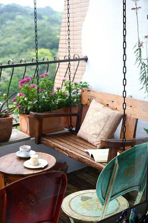 35 Small Balcony Gardens Home Design And Interior Apartment Balcony Decorating Small Balcony Garden Balcony Decor