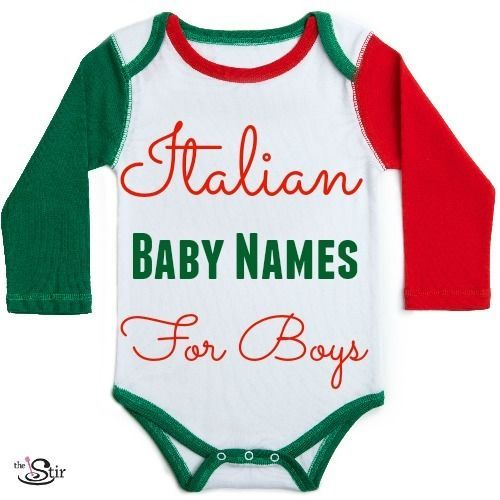 Italian Boy Name: 20 Unforgettable Italian Names For A Baby Boy