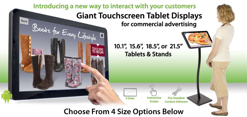 Restaurant Touch Screen Tablets For Pos Advertising Tablet Digital Advertising Interactive
