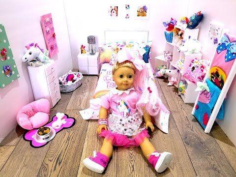 Jojo Siwa Diy Bedroom Furnitures For American Girl Doll Inspired