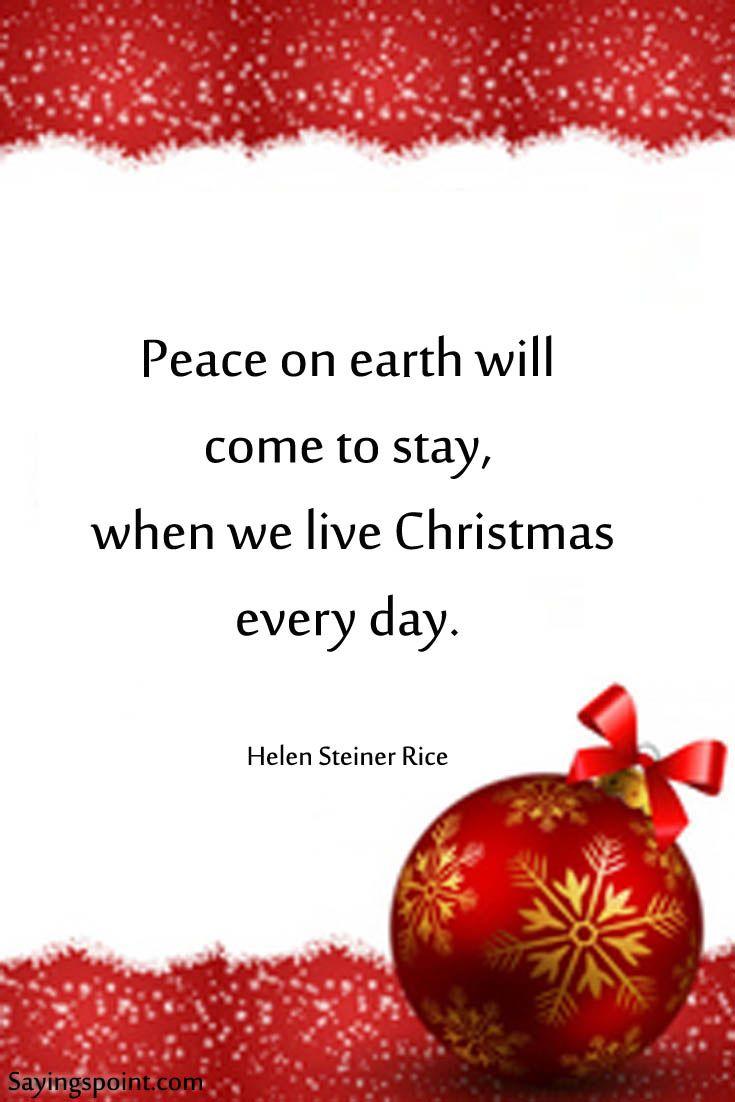 Christmas Sayings Christmas Christmasquotes Sayings Quotes
