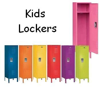 For The Garage Kids Lockers Kids Locker Beach Room Decor