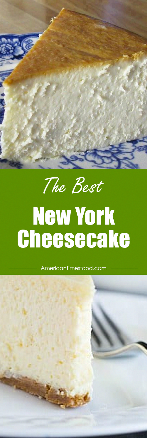 New York Cheesecake #cheesecakerecipes