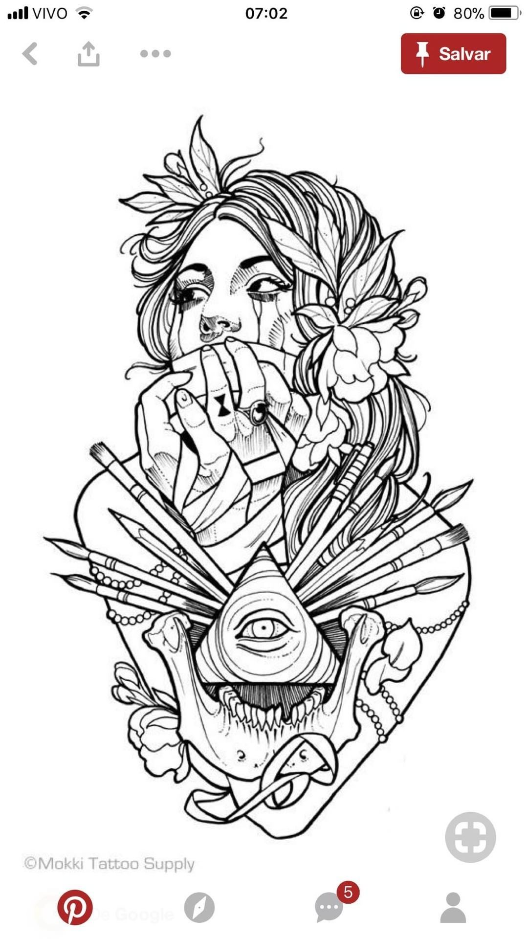 Tattoo Coloring Book By Perilyn Lassiter On Tattoos