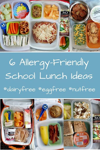 6 Allergy Friendly School Lunch Ideas And Giveaway Dairy Free