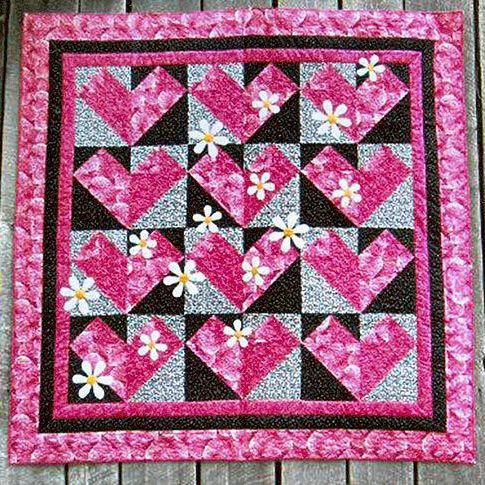 Valentine Quilt Patterns Fall In Love Tablecloths Love This And