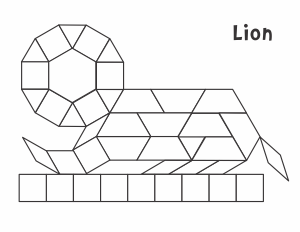 Le Block Template | Animals Pattern Block Templates From Jessica S Corner Of Cyberspace