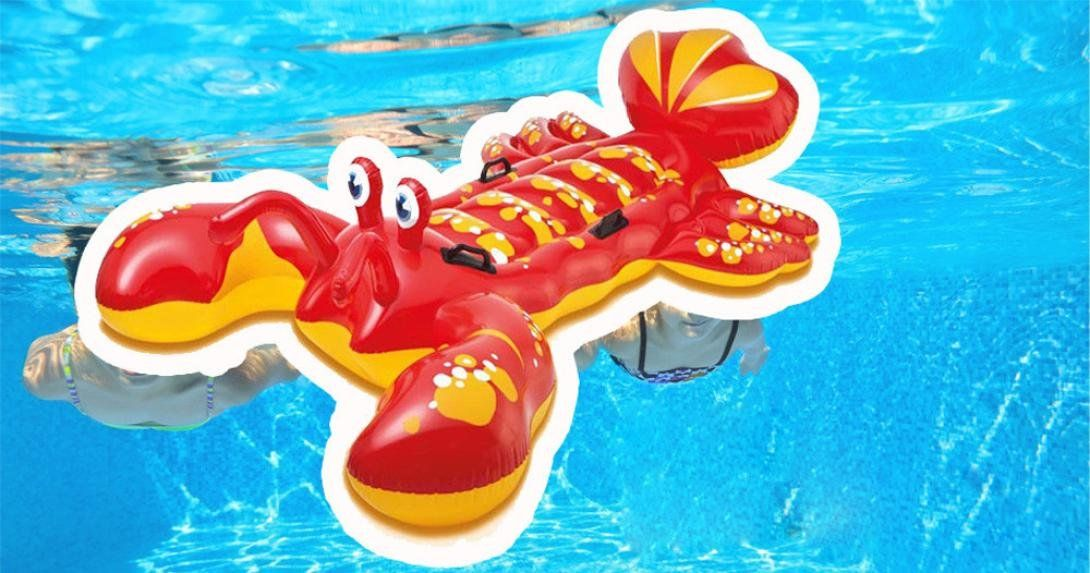 HP95TM Big Lobster Pattern Inflatable Floating Mat Swimming Pool ...