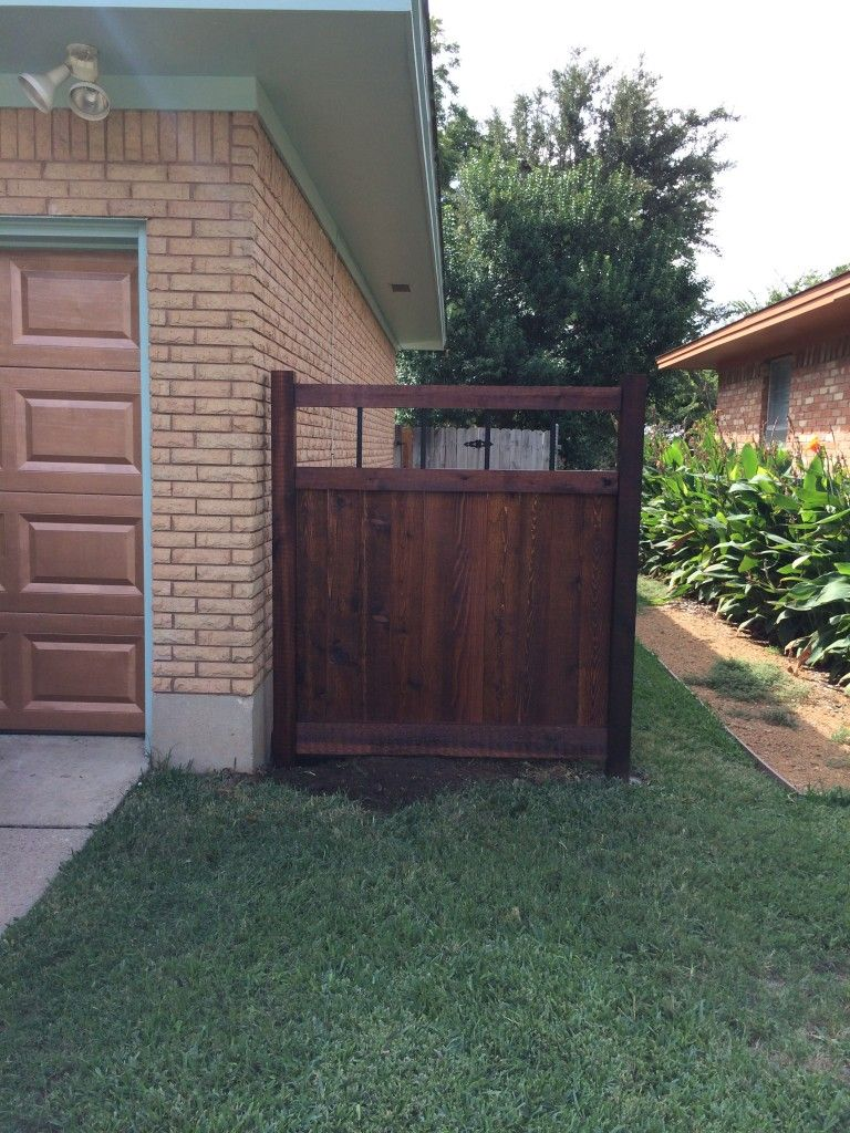 Custom Garbage Can And Recycling Bin Enclosures Fences