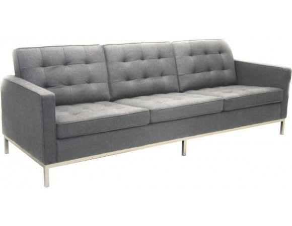 Florenece Knoll 3 Seater Sofa (replica)