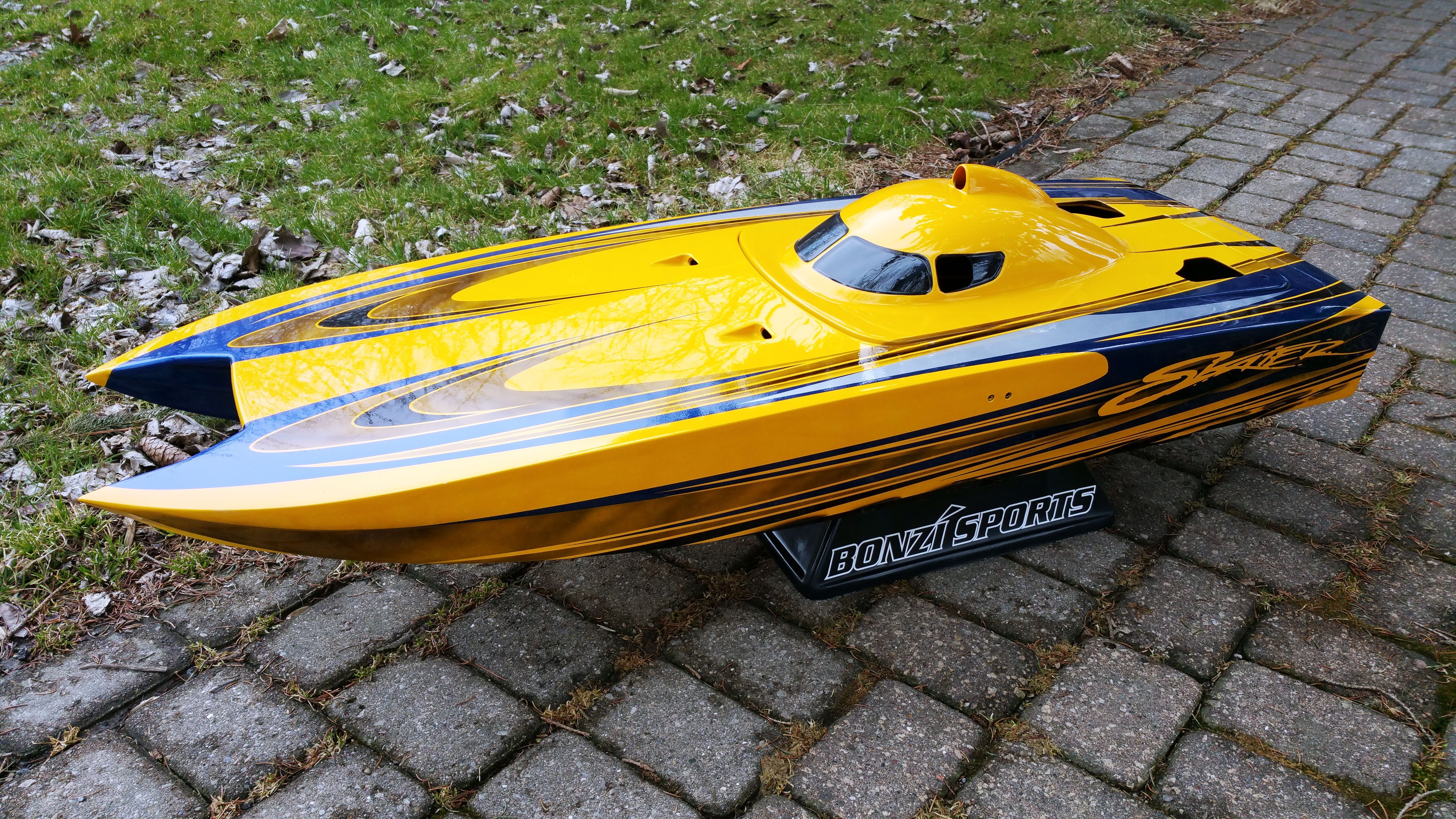 """47"""" Skater RC Boat Rc boats, Gas rc boats, Model boats"""