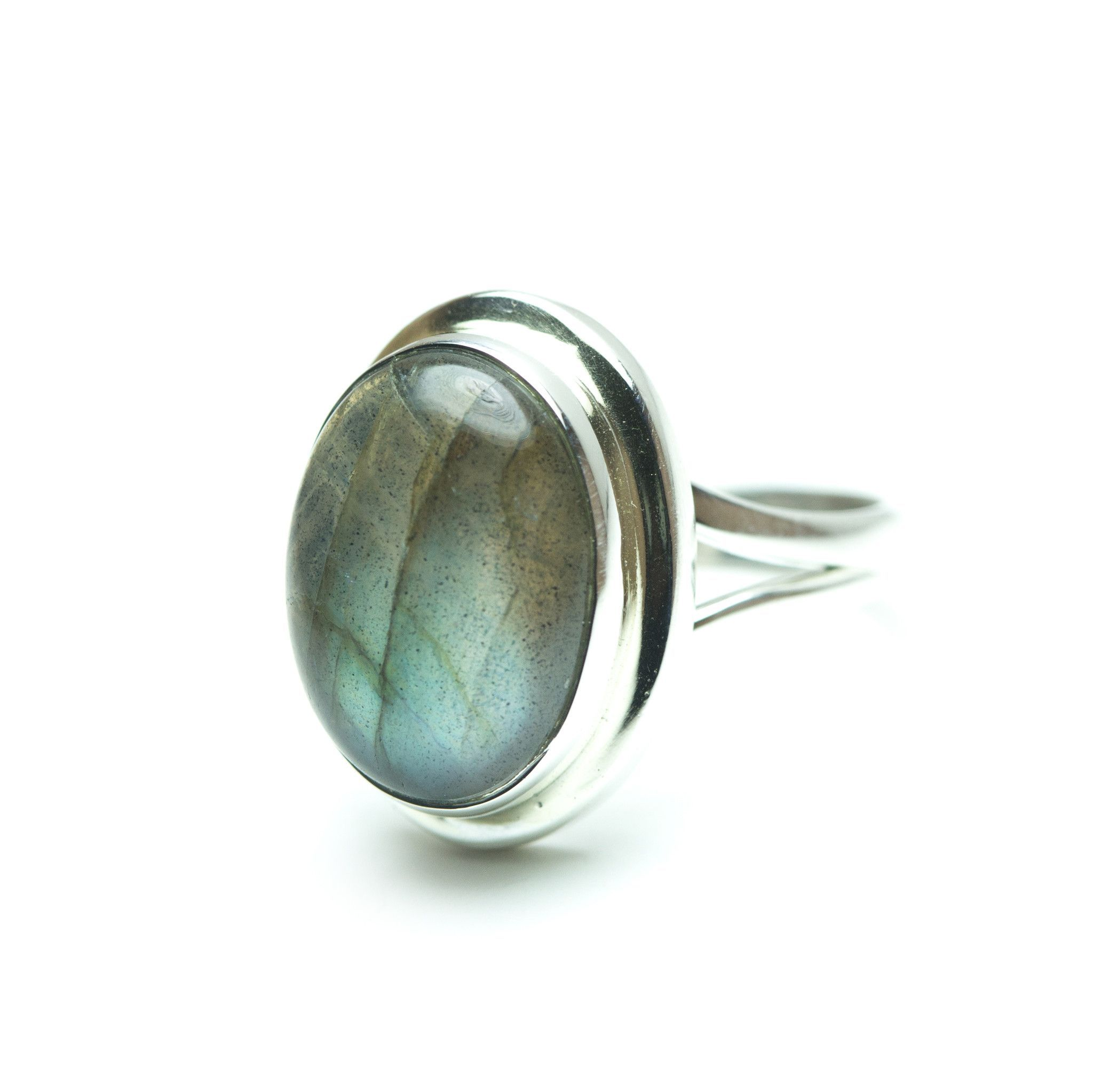 Boho Labradorite Ring