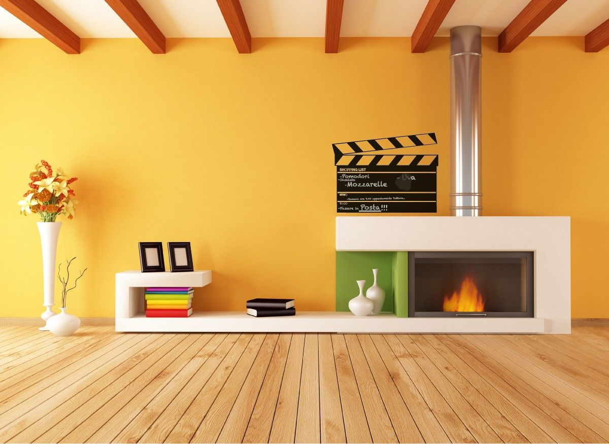 Clapperboard Blackboard Wall Sticker / Ciak Lavagna Adesiva ...